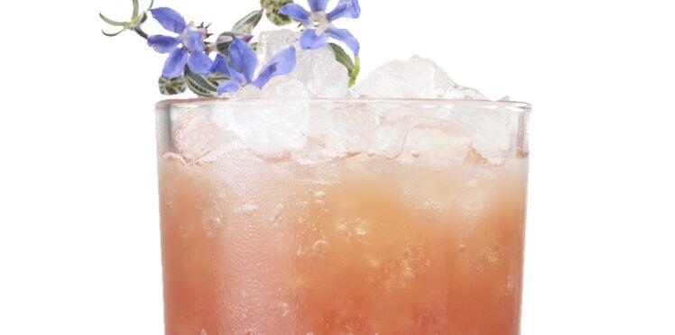 Cocktail fleur de lotus