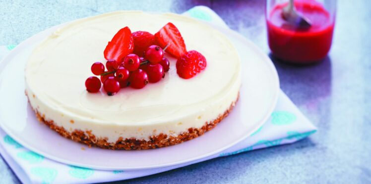 Cheesecake express sans cuisson