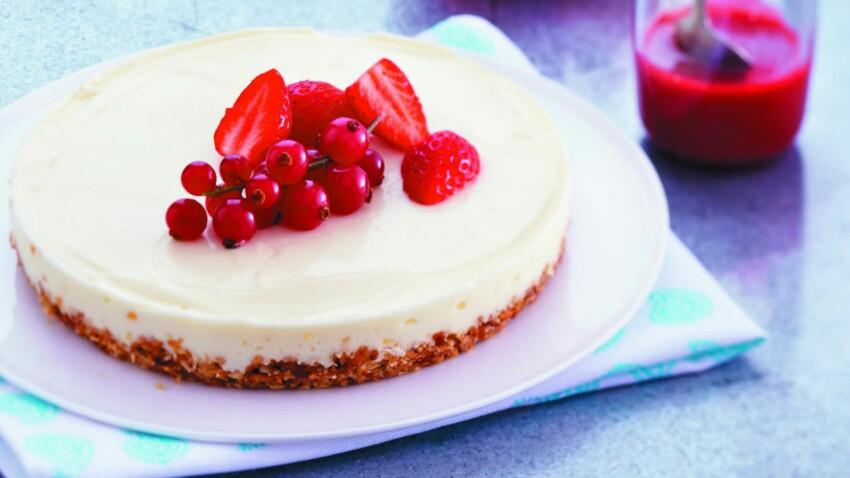 Cheesecake Express Sans Cuisson Decouvrez Les Recettes De Cuisine De Femme Actuelle Le Mag