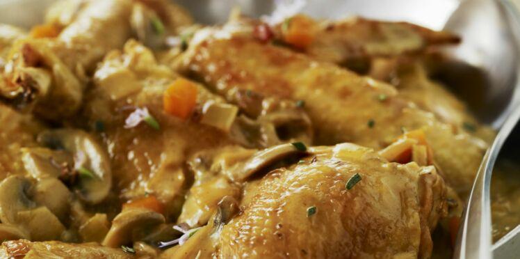 Cuisses de poulet Vallée d'Auge