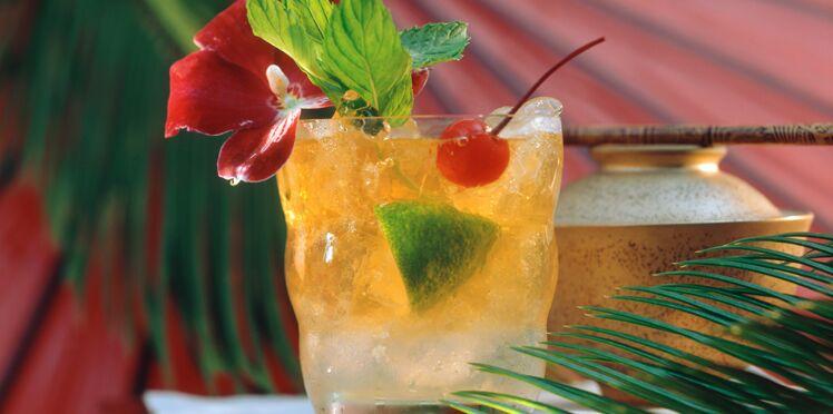 Recette du Mai Tai, cocktail californien au rhum