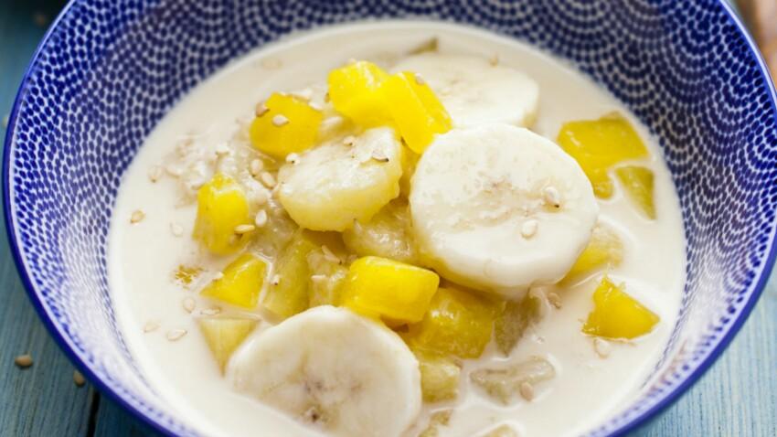 Soupe a la banane