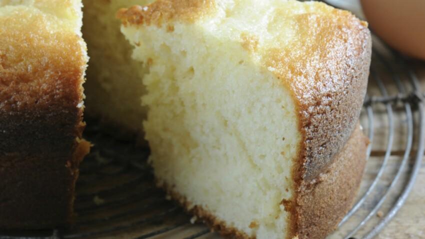 Gâteau au yaourt avec du beurre