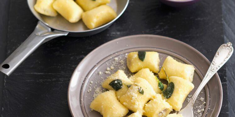 Gnocchis aux deux fromages