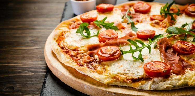 Pizza ricotta et légumes grillés