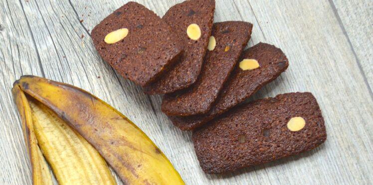 Financiers à la peau de banane