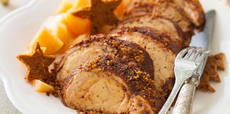 Foie gras en croûte de pain d'épices et aux coings de Christian Constant