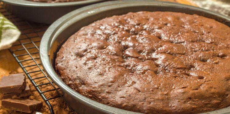 Le gâteau au cacao (recette Nestlé)