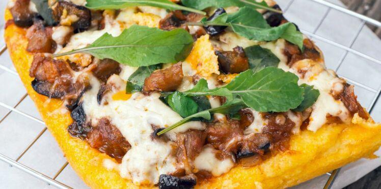 Pizza à la caponata