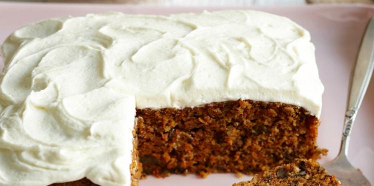 Un carrot cake pour le goûter
