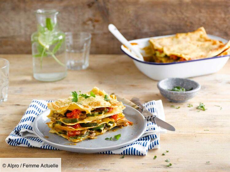 Lasagne végétarienne Alpro Soja : découvrez les recettes de cuisine de Femme Actuelle Le MAG