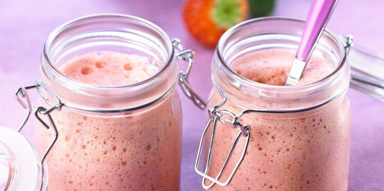 Mousse légère vanille-fraise au Thermomix
