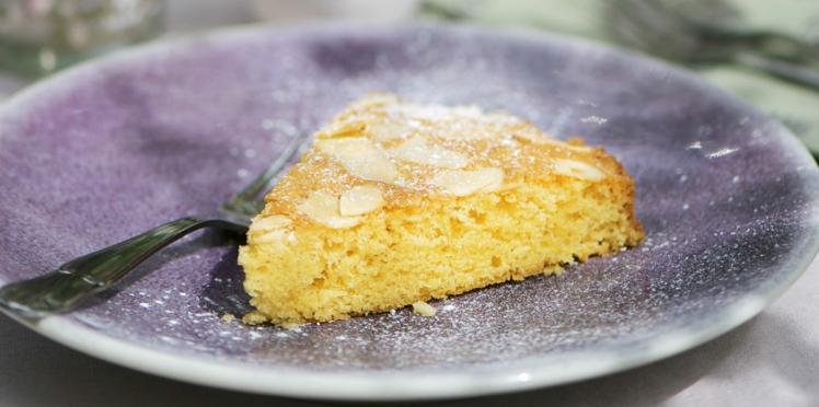 Gâteau au sucre roux et aux amandes