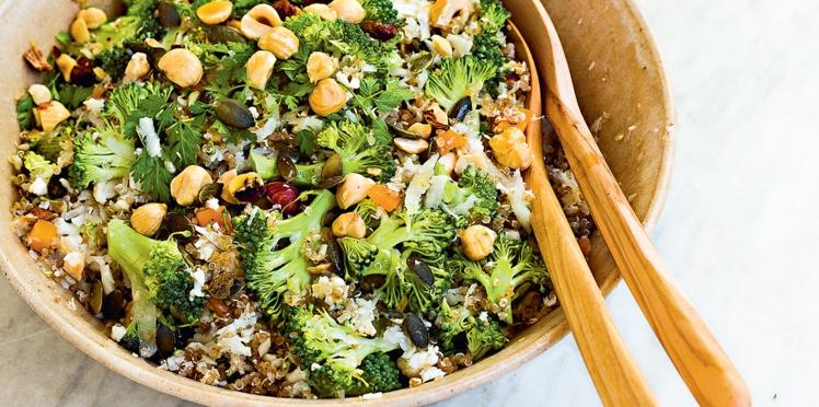 Taboulé de chou-fleur et quinoa