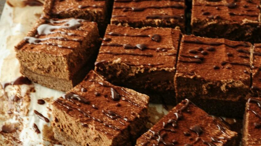 Gâteau façon mousse au chocolat