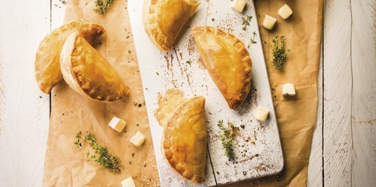 Empanadas à la tartiflette et aux champignons