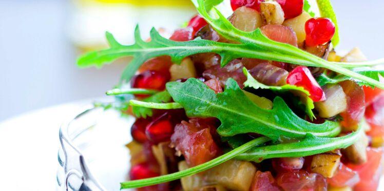 Tartare de thon à l'orientale