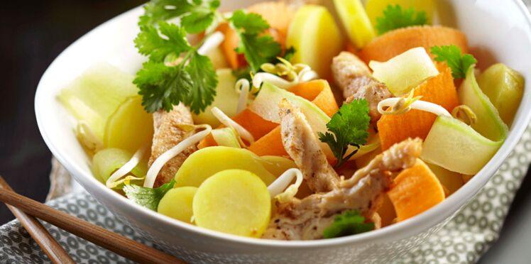 Salade asiatique de Rattes du Touquet
