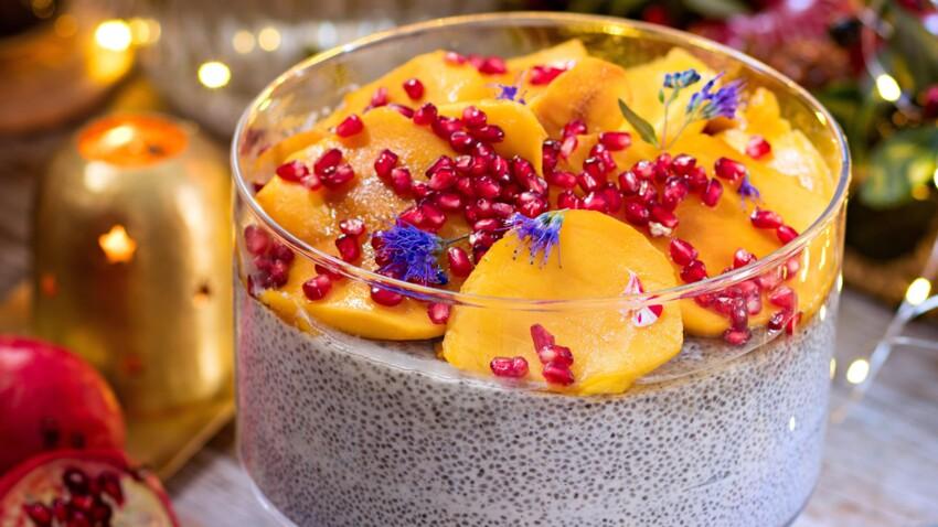 Christmas pudding aux graines de chia