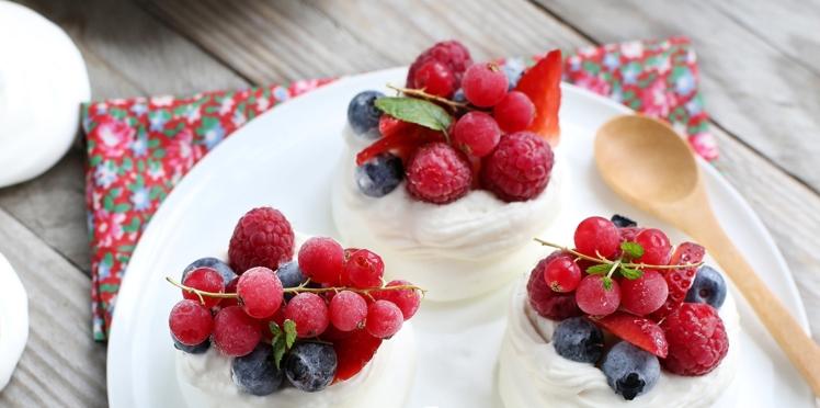 Nos recettes préférées aux fruits rouges
