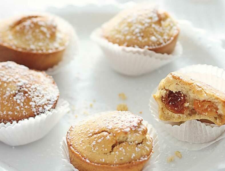 Mini-muffins orange confite, raisins et cannelle