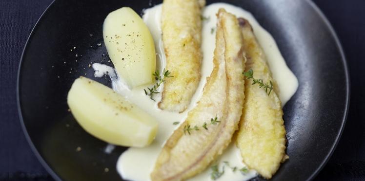 Filets de limande sauce hollandaise