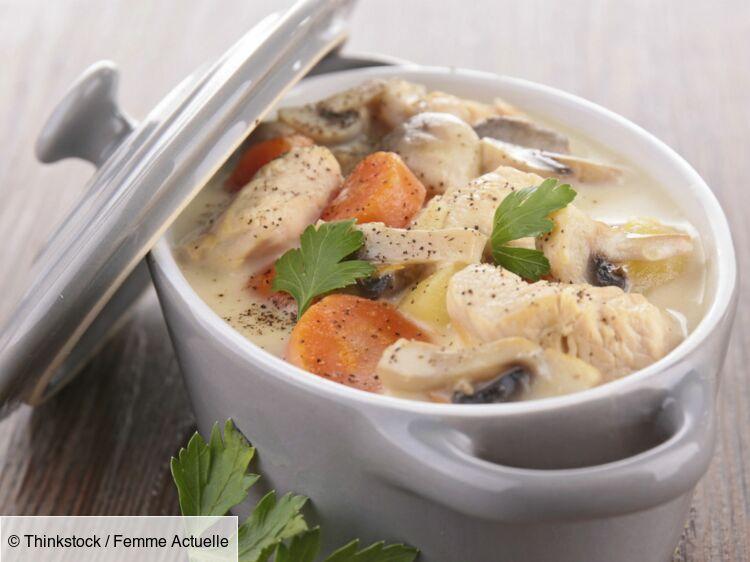 Blanquette de veau traditionnelle : découvrez les recettes de cuisine de Femme Actuelle Le MAG