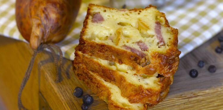 Cake moelleux aux saucisses et au fromage