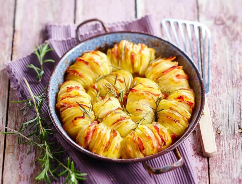 Millefeuille de pommes de terre au comté