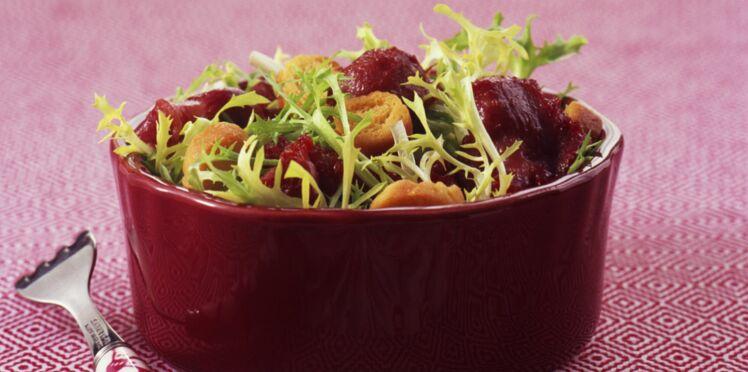 Salade aux gésiers de dinde
