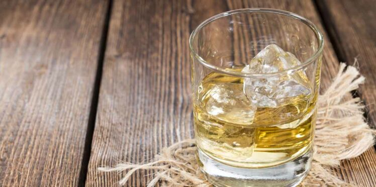 Cocktail au cidre, rhum blanc et pomme verte