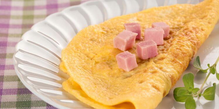 Frittata aux pommes de terre, jambon, fromage