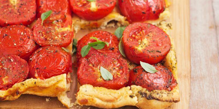 La tarte à la tomates