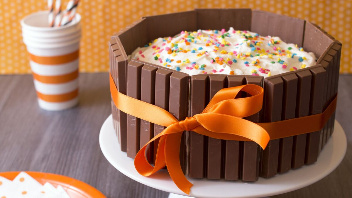 Gâteau au Kit kat®