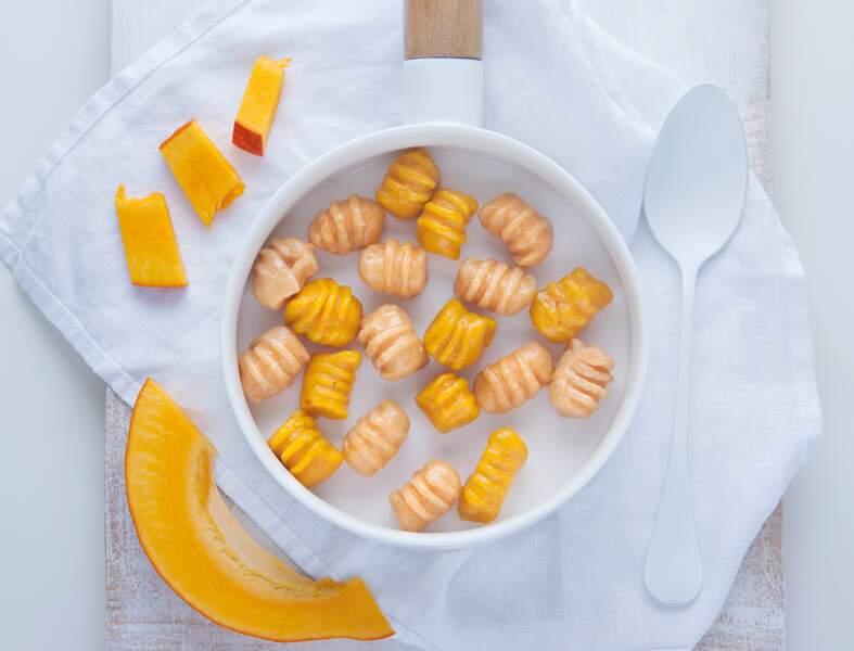 Gnocchis oranges à la patate douce
