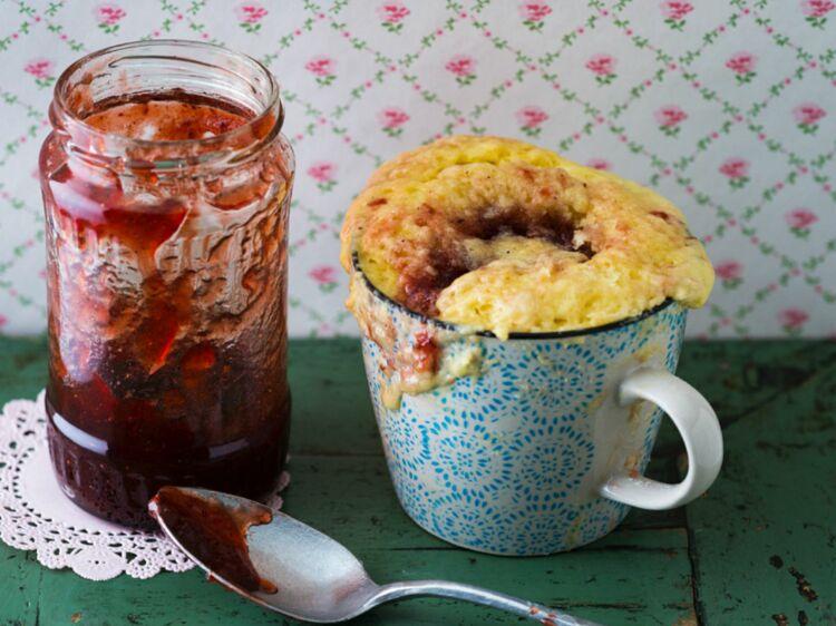 Mugcake sans levure : découvrez les recettes de cuisine de Femme Actuelle Le MAG