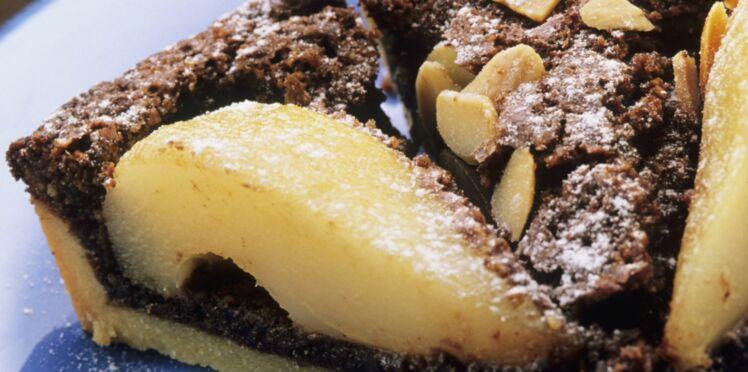 Amandines poire-chocolat