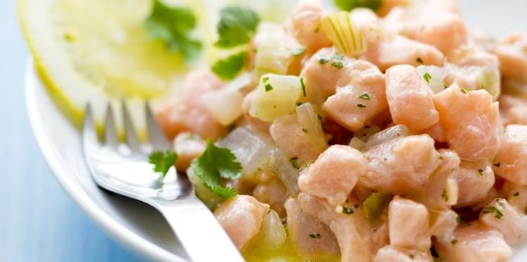 Ceviche saumon