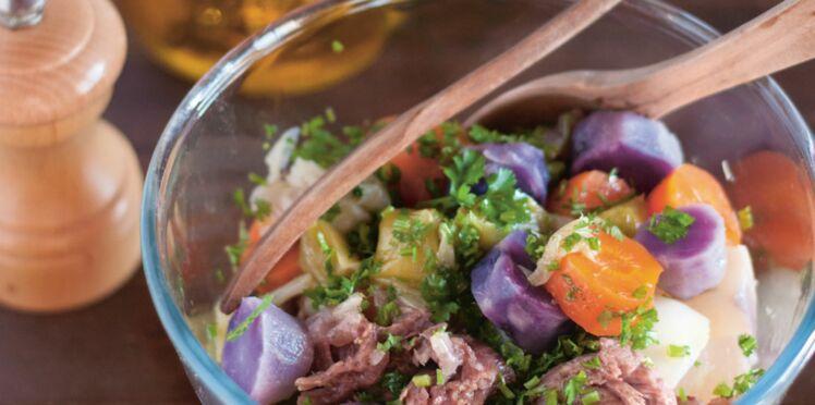 Salade de pot-au-feu