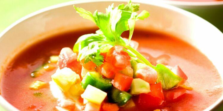 Soupe de légumes du soleil