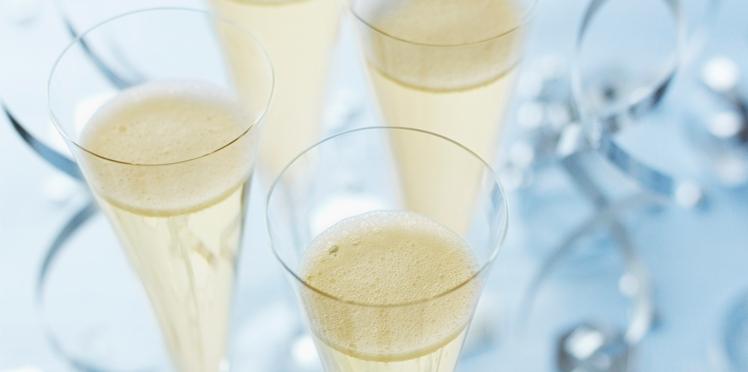 Cocktail de fête : pétillant aux agrumes