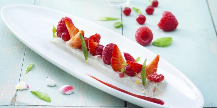 St Môret® Réduit en sel aux fruits rouges, éclats de sucre à la verveine