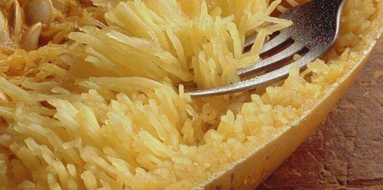 Gratin de courgette 'spaghetti'