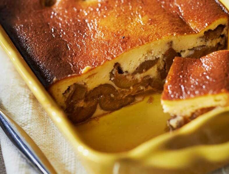 Gâteau aux reines-claudes