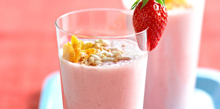 Milk-shakes au lait de riz et aux fruits