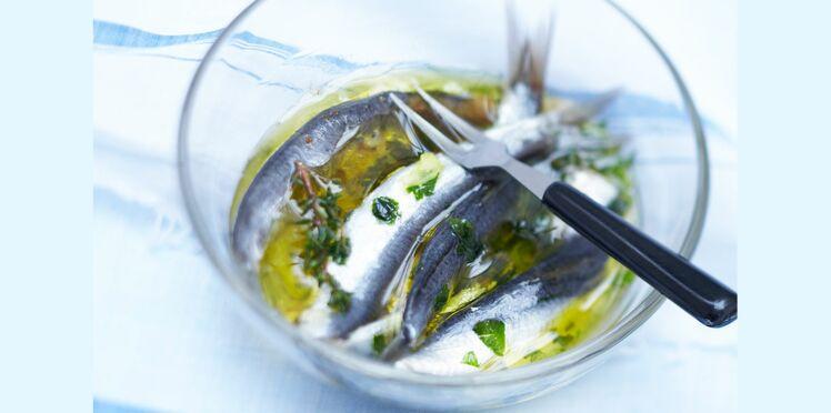 Sardines à la bretonne