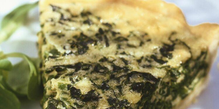 Tarte épinard - menthe - féta
