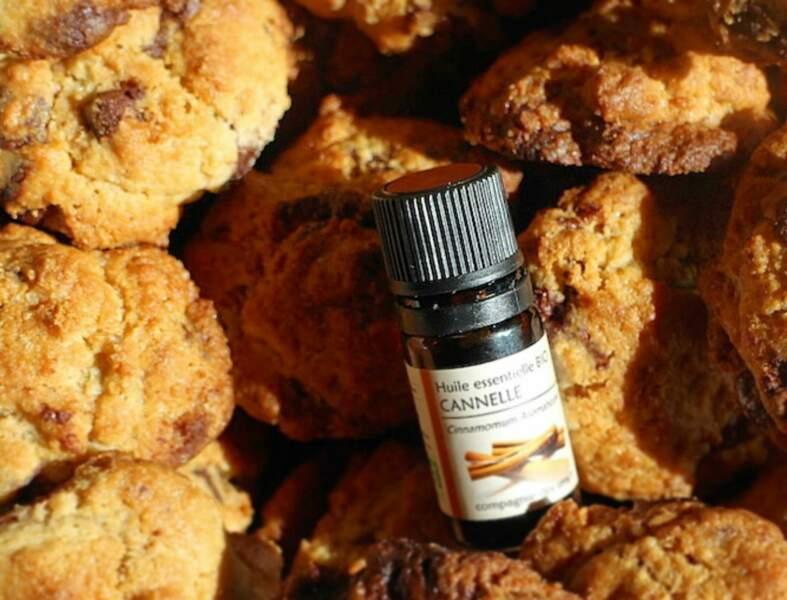 Cookies à l'huile essentielle de cannelle