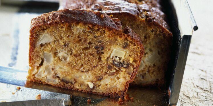 Cake pomme cannelle noix