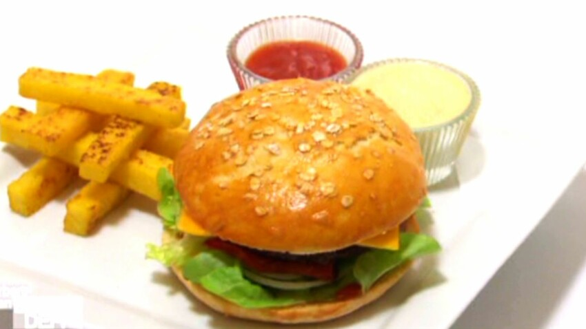 Le Burger Light De Norbert Et Jean Decouvrez Les Recettes De